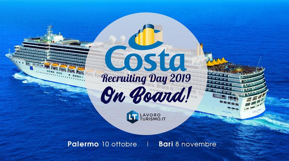 Foto A Palermo e Bari Recruiting Day a bordo delle navi Costa Crociere
